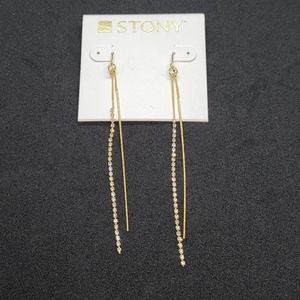 2/$13 gold earrings
